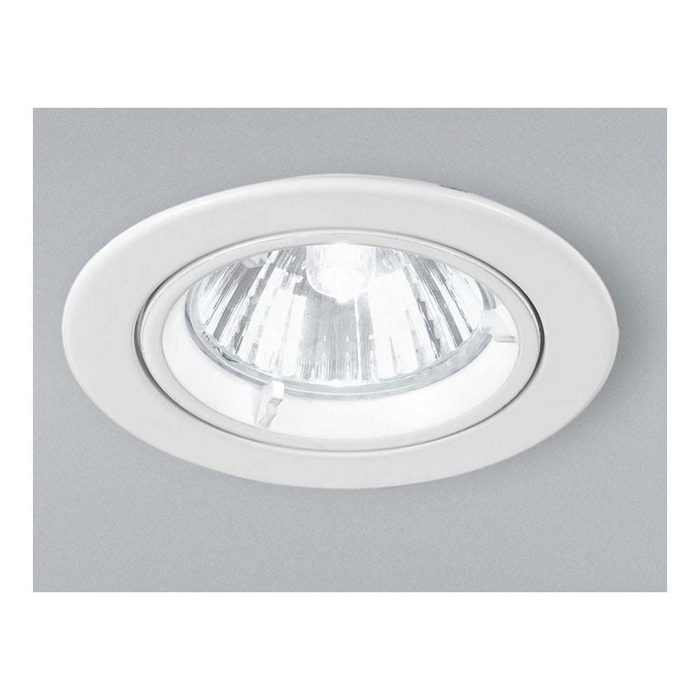 Rf281 low voltage halogen white fixed recessed downlight
