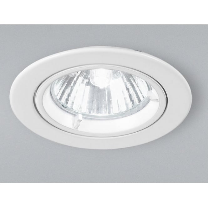 Home Lighting Down Lights Circuit On Rcd: Franklite Lighting RF281 Low Voltage Halogen White Fixed