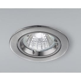 RF282 Low Voltage Halogen Satin Nickel Fixed Recessed Downlight