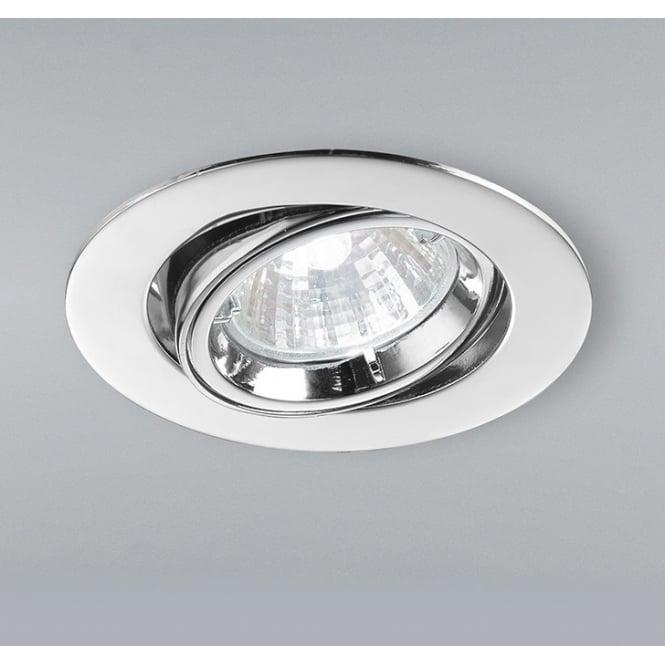 Home Lighting Down Lights Circuit On Rcd: Franklite Lighting RF283 Low Voltage Halogen Chrome Tilt