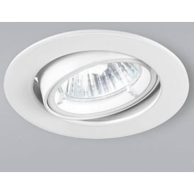RF284 White Halogen Recessed Spotlight