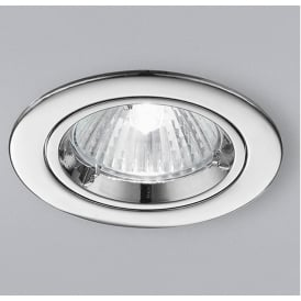 RF286 Recessed Downlight With Chrome Finish