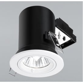 RF287 Recessed Downlight With White Finish