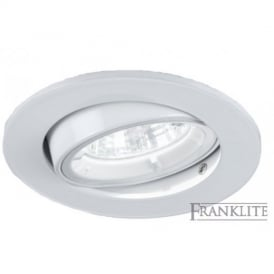 RF291 Recessed Downlight With White Finish