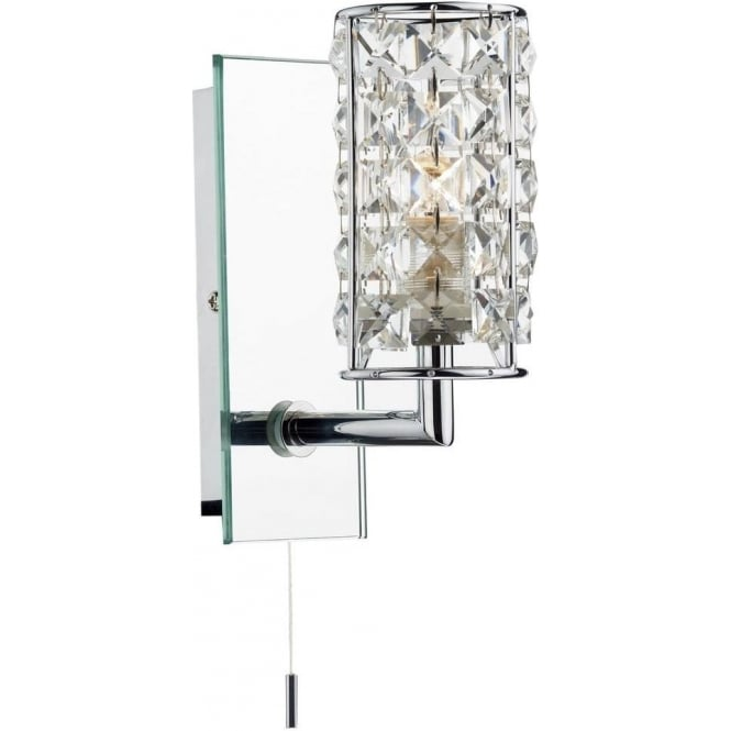 Dar Lighting RHO0750 Rhodes Bathroom Wall Light IP44