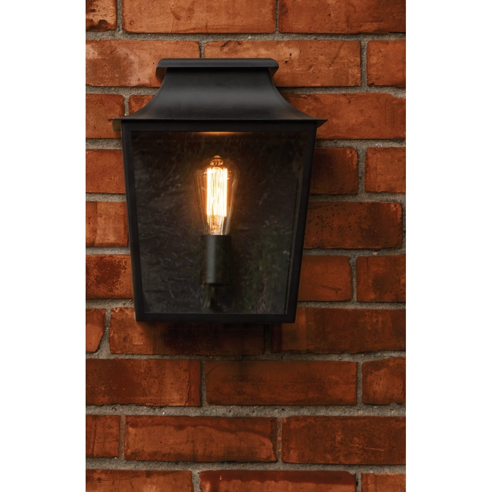 premium selection 2bd8c e1c53 Richmond Vintage Outdoor Wall Light In Black Finish 1340002