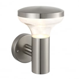 Roko Outdoor Wall Light In Marine Grade Stainless Steel Finish 67701
