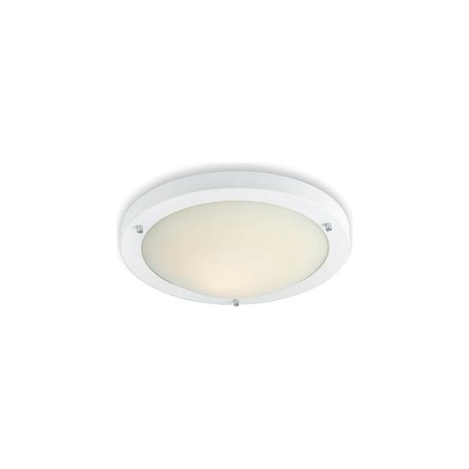 Firstlight Rondo 3340 White 28 watt Low Energy Flush Fitting