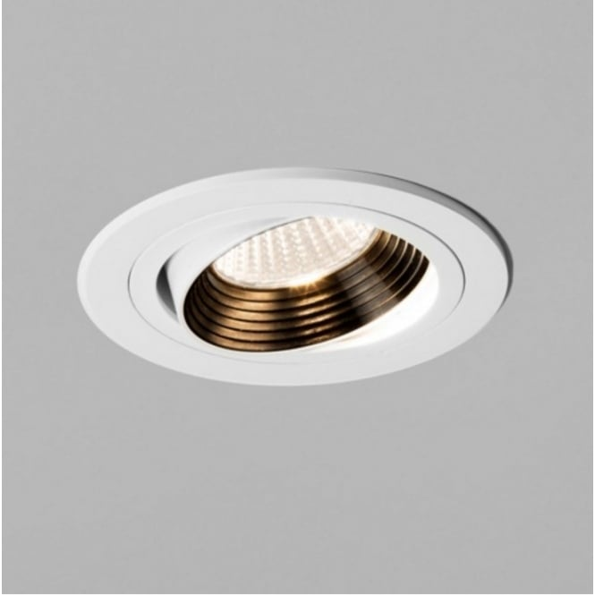 Astro Lighting Round Adjustable Downlight In White Finish APRILIA 5725