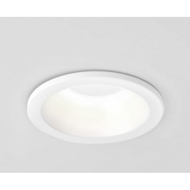 Astro Lighting Round Bathroom Recessed Spotlight In White Finish IP65 MINIMA 5745