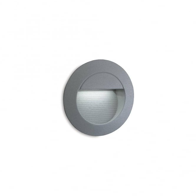 Firstlight Round Outdoor LED Wall And Step Light In Stainless Steel 6080