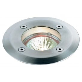 Round Walkover Light In Stainless Steel Finish IP67 6005
