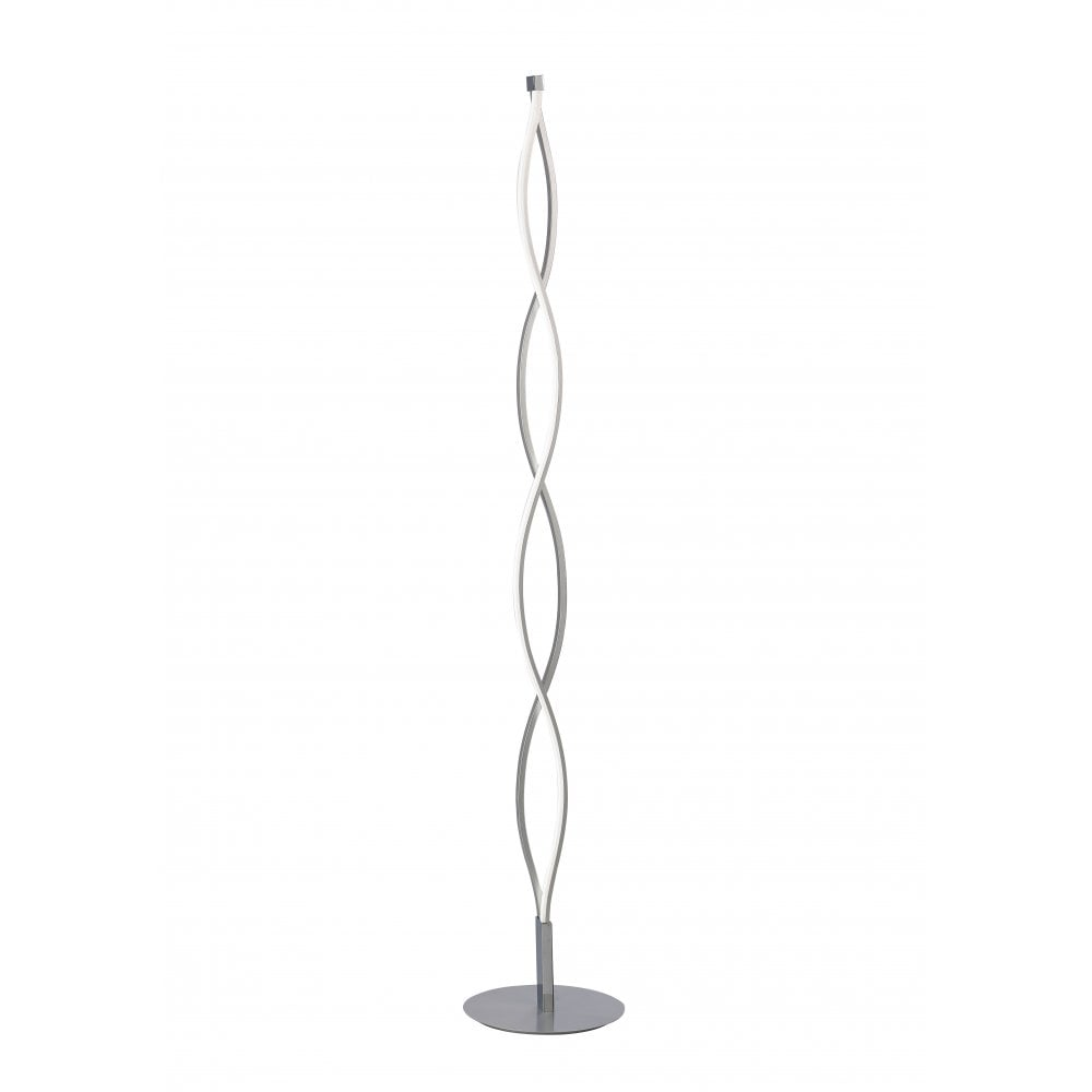 LED Floor Lamp Chrome