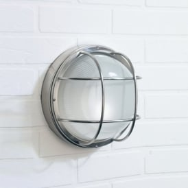SAL5044 Salcombe Round Outdoor Wall Light