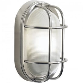 SAL5244 Salcombe Outdoor Wall Light In Stainless Steel