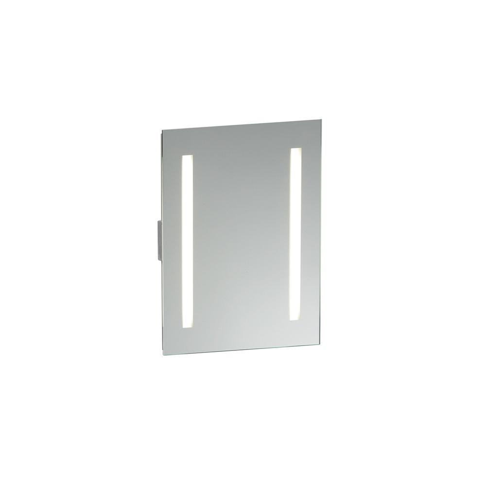 Saxby Lighting 13885 Glimpse 2 Light Illuminated Bathroom Mirror ...
