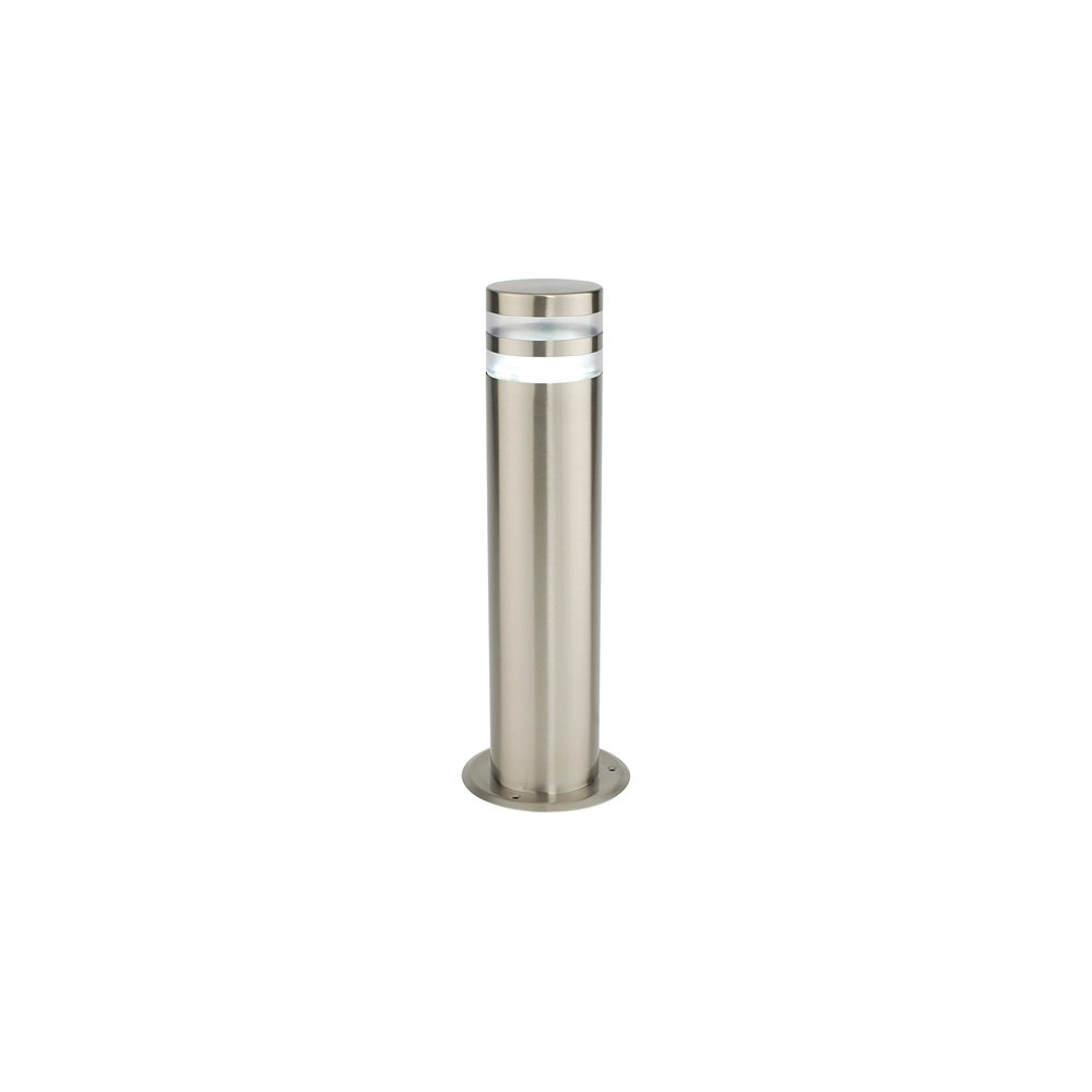 Saxby Lighting 13932 Morse 1 Light Exterior Brushed Steel Bollard Saxby Lighting From The Home