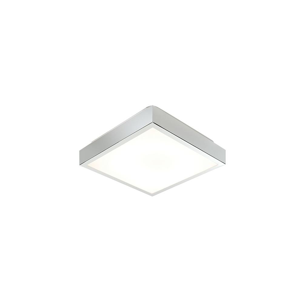 square bathroom ceiling light. 28679 Cubita Square Med Chrome Flush Bathroom Ceiling Light H