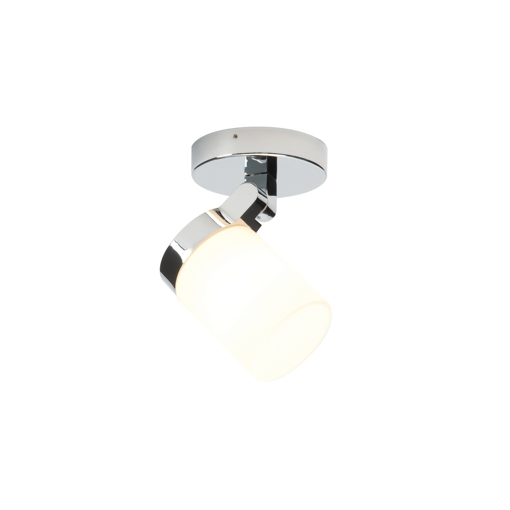 Saxby lighting 39616 cosmo 1 light bathroom chrome glass ceiling 39616 cosmo 1 light bathroom chrome amp glass ceiling light aloadofball Images