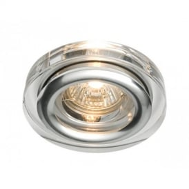 39732 Ize Bathroom Glass & Aluminium Recessed Downlight
