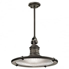 Sayre Extra Large Ceiling Pendant Light in Olde Bronze Finish KL/SAYRE/P/XL OZ