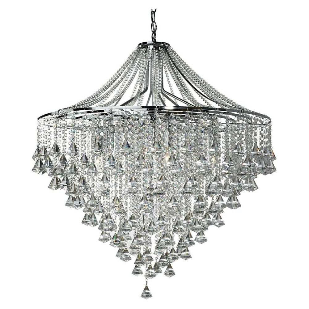 3497 7cc Dorchester 7 Light Crystal Chandelier
