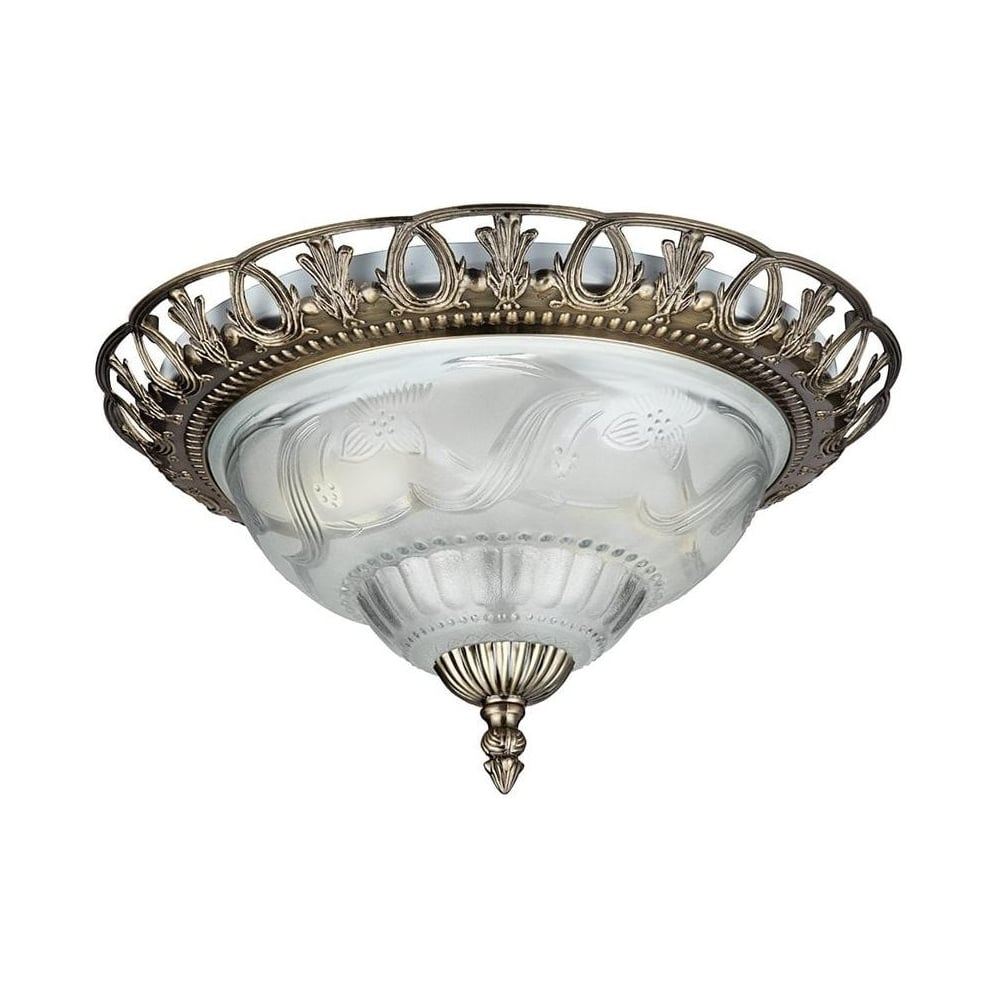 Searchlight 7045 13 traditional antique brass flush ceiling light 7045 13 traditional antique brass flush ceiling light fitting mozeypictures Images