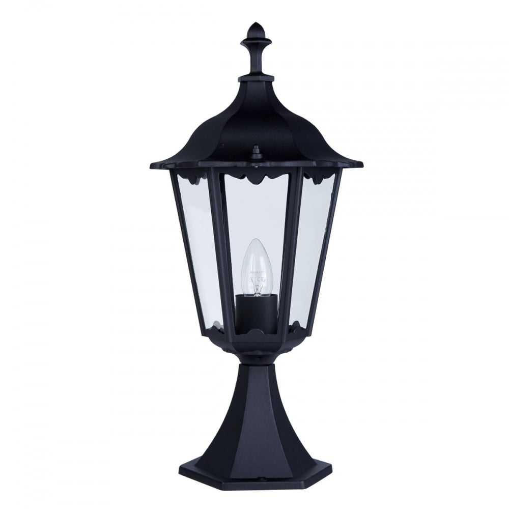 Searchlight 82503BK Alex Outdoor Uplight Post Lamp - Lighting from ...