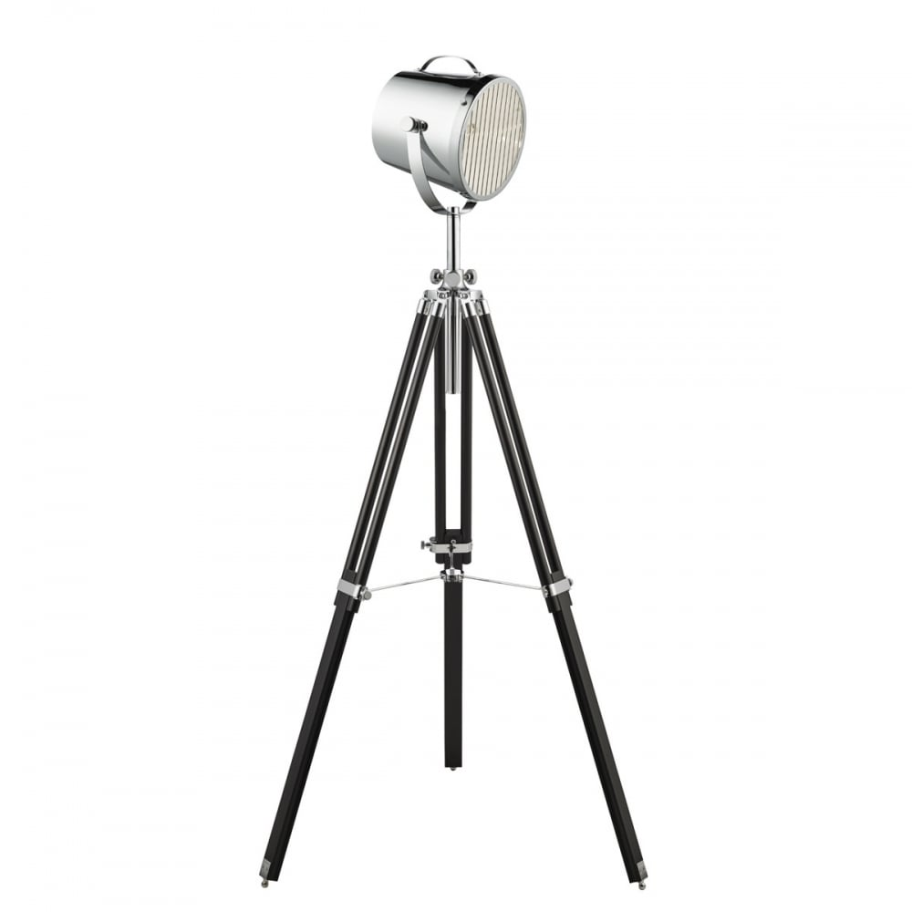 Searchlight adjustable stage floor lamp in chrome and black finish adjustable stage floor lamp in chrome and black finish 3013 aloadofball Gallery