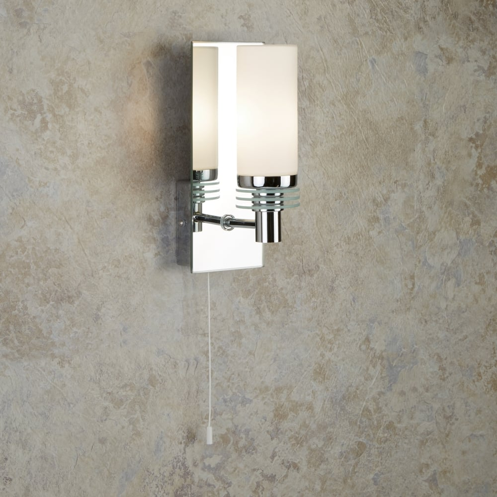 Searchlight lima bathroom single led wall light with mirrored glass lima bathroom single led wall light with mirrored glass plate 5611 1cc led aloadofball Gallery
