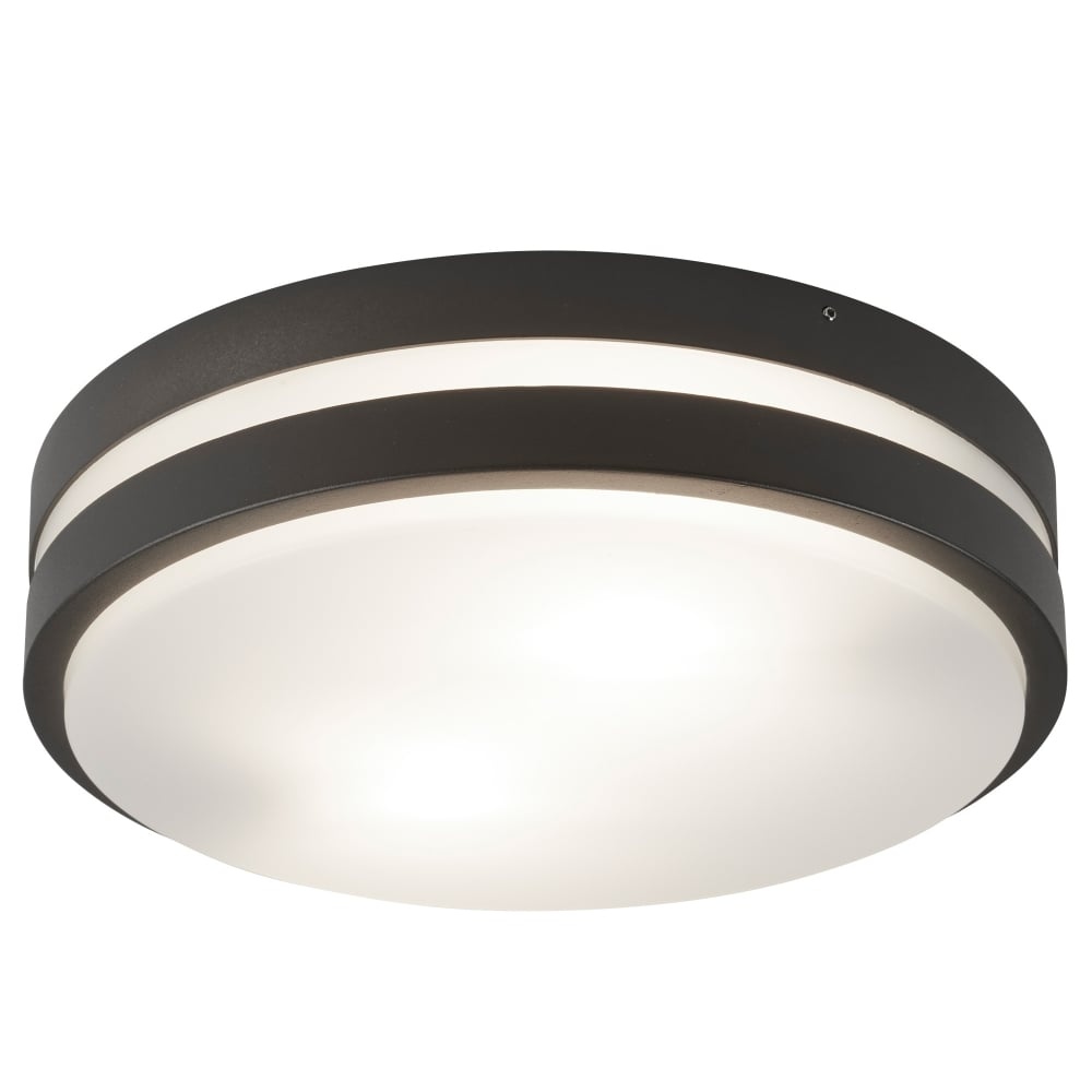 Searchlight outdoor flush ceiling light in dark grey finish ip44 outdoor flush ceiling light in dark grey finish ip44 3792 2gy aloadofball Gallery
