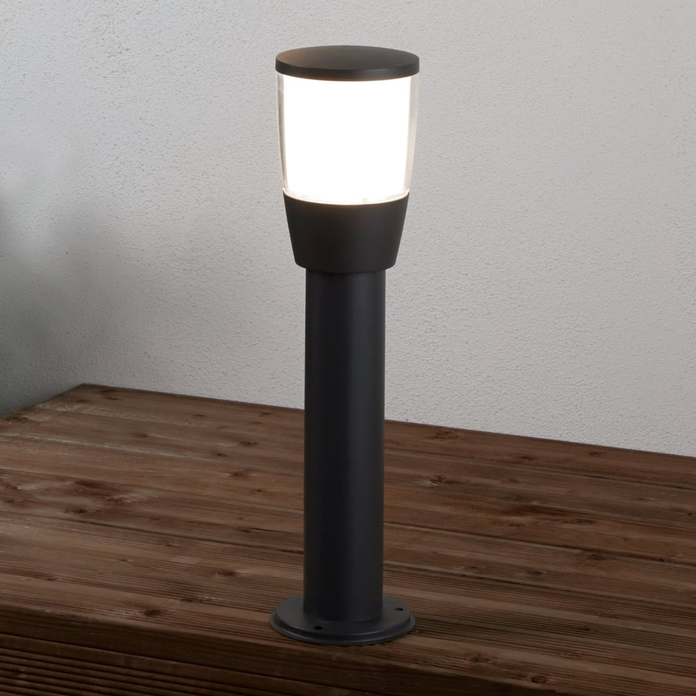 Searchlight tucson modern outdoor post light in grey finish 0598 tucson modern outdoor post light in grey finish 0598 450gy aloadofball Image collections