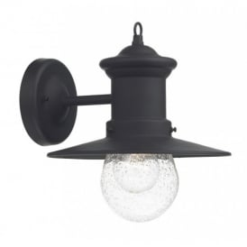 SED1522 Sedgewick Traditional Exterior Wall Light in Black