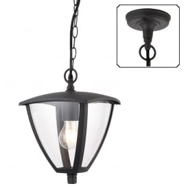 Seraph Modern Outdoor Ceiling Pendant Light In Textured Grey Finish 70696