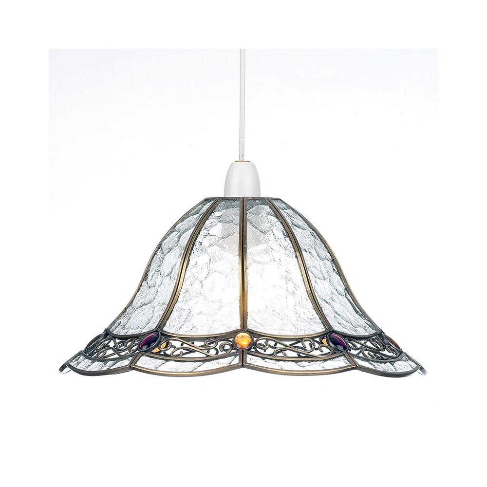 Sevia Non Electric Tiffany Ceiling Pendant Light 1217
