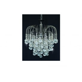 Shower Ball Crystal Strass Ceiling Chandelier In Antique Nickel Finish ST01800/40/03/AN