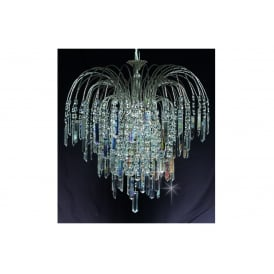 Shower Coffin Crystal Strass Ceiling Chandelier In Nickel Finish ST01700/47/06/N