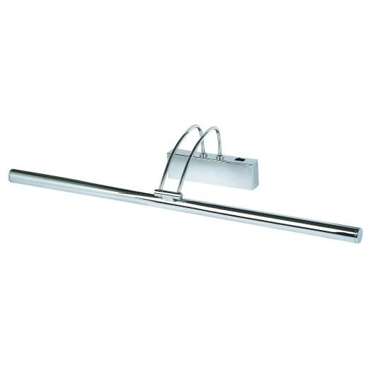 Slimline Contemporary Low Energy switched Picture Light Polished Chrome