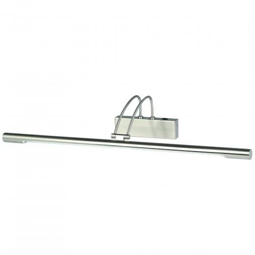 Slimline Contemporary Low Energy switched Picture Light Satin Silver