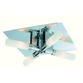 Spa 5755 Chrome Bathroom Ceiling Light