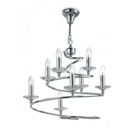 Spiral 8 Light Ceiling Pendant Light 4244