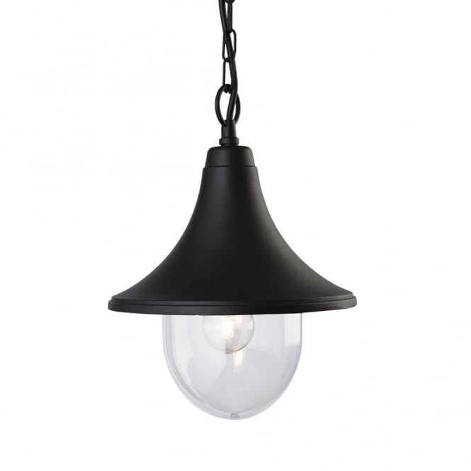 Firstlight Station Outdoor Ceiling Pendant Light In Black Finish 8670