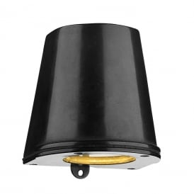 Strait Contemporary LED Outdoor Wall Light In Oxidised Finish IP44 STR1537