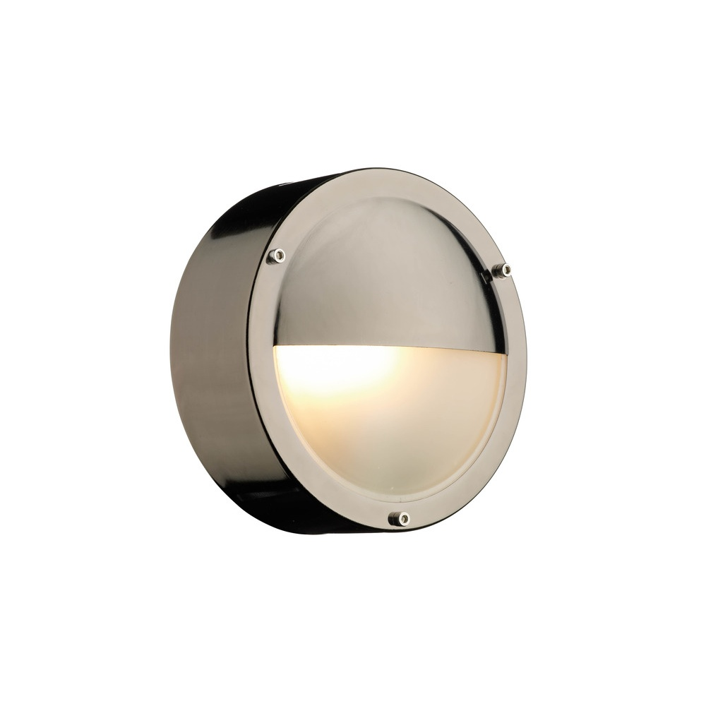 TAH5067 Tahoe Round Eyelid Outdoor Wall Light In Black ...