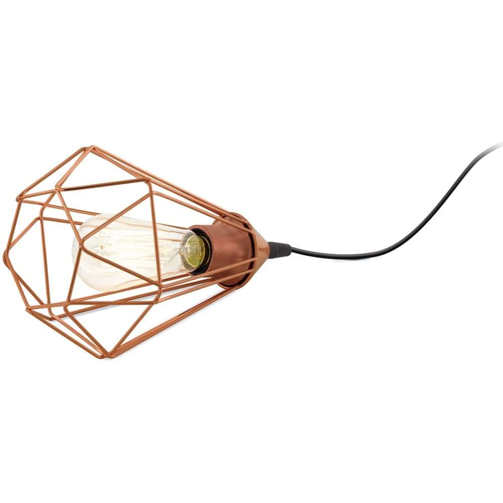 Eglo Lighting Tarbes Vintage Table Lamp In Copper Finish 94197 Lighting From The Home Lighting Centre Uk