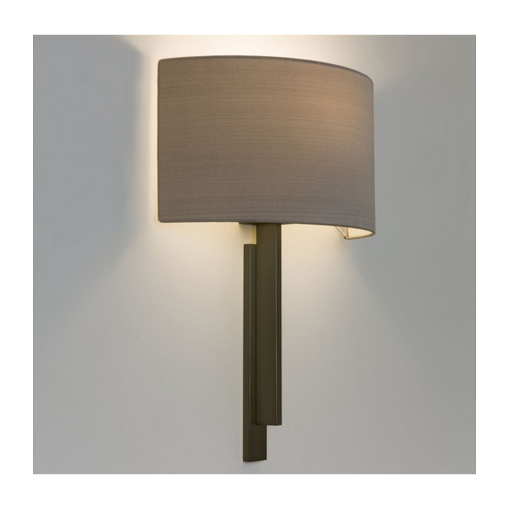 Wall Mounted Oyster Lights : Astro Lighting Tate Contemporary Wall Light in Bronze with Oyster Shade 7253 + 4137 - Lighting ...