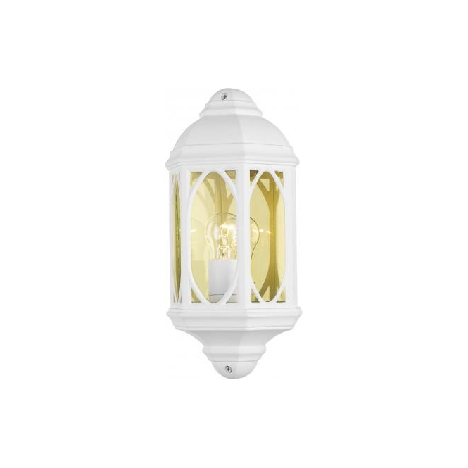 Dar Lighting TEN212 Tenby White Outdoor Wall Lantern