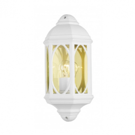 TEN212 Tenby White Outdoor Wall Lantern
