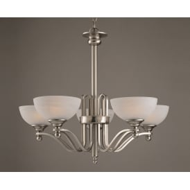 Texas Contemporary 5 Light Pendant Ceiling Fitting PG00532/05