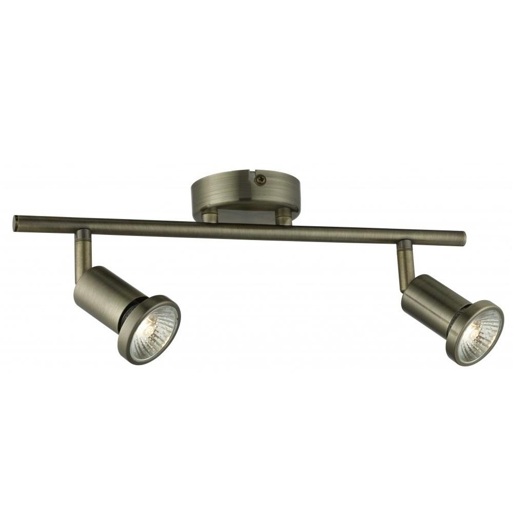 Thlc jupiter antique brass 2 way spotlight bar lighting from the jupiter antique brass 2 way spotlight bar aloadofball Choice Image